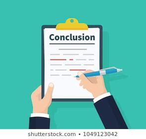 Summary and conclusion in a research paper